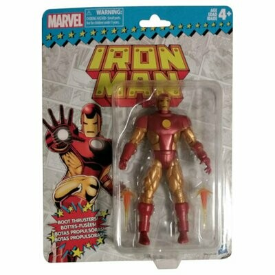 Iron Man 6 inch Vintage Style Figure - Action Figures - New