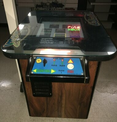 Galaxian Cocktail Arcade Machine