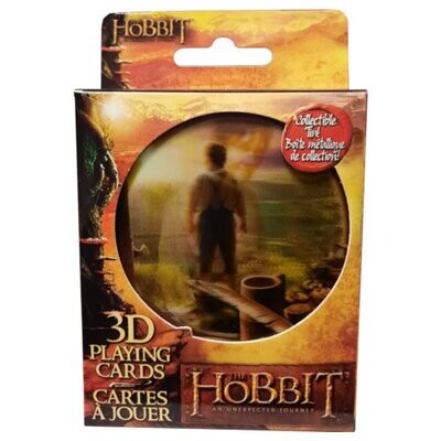 The Hobbit 3D Playing Cards - New