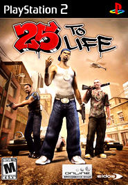 25 To Life - PS2 - Used