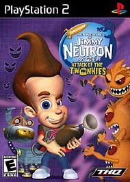 Adventures of Jimmy Neutron, Boy Genius: Attack of the Twonkies - PS2 - Used