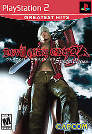 Devil May Cry 3: Dante's Awakening Special Edition - PS2 - Used