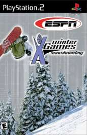 ESPN Winter X Games Snowboarding - PS2 - Used