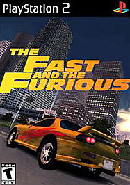 Fast and the Furious - PS2 - Used