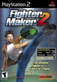 Fighter Maker 2 - PS2 - Used