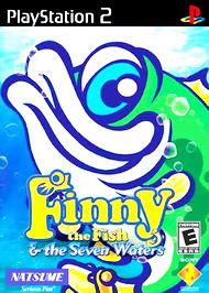 Finny the Fish & the Seven Waters - PS2 - Used