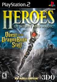Heroes of Might and Magic: Quest for the DragonBone Staff - PS2 - Used