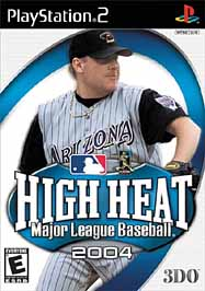 High Heat Major League Baseball 2004 - PS2 - Used