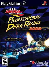 IHRA Professional Drag Racing 2005 - PS2 - Used