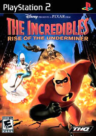 Incredibles: Rise of the Underminer - PS2 - Used