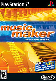 MAGIX Music Maker - PS2 - Used