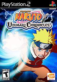Naruto: Uzumaki Chronicles - PS2 - Used