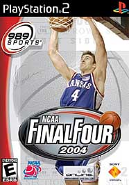 NCAA Final Four 2004 - PS2 - Used