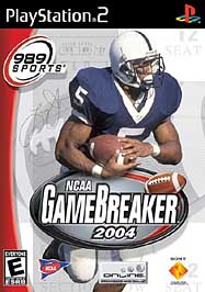 NCAA GameBreaker 2004 - PS2 - Used