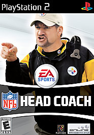 NFL Head Coach - PS2 - Used