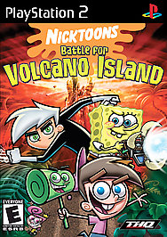 Nicktoons: Battle for Volcano Island - PS2 - Used