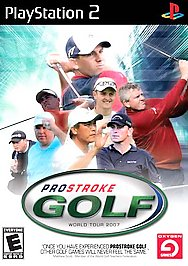 ProStroke Golf: World Tour 2007 - PS2 - Used