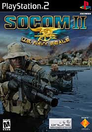 SOCOM II: U.S. Navy Seals - PS2 - Used
