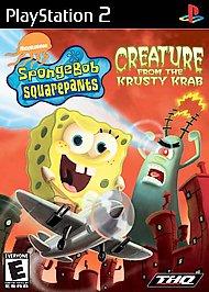 SpongeBob SquarePants: Creature from the Krusty Krab - PS2 - Used