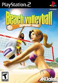 Summer Heat Beach Volleyball - PS2 - Used