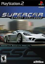 Supercar Street Challenge - PS2 - Used