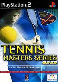 Tennis Masters Series 2003 - PS2 - Used