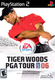 Tiger Woods PGA Tour 06 - PS2 - Used