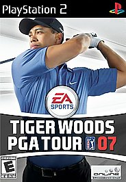 Tiger Woods PGA Tour 07 - PS2 - Used