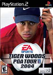 Tiger Woods PGA Tour 2004 - PS2 - Used