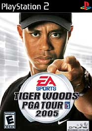 Tiger Woods PGA Tour 2005 - PS2 - Used
