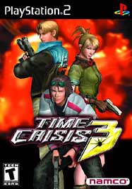 Time Crisis 3 W/gun - PS2 - Used