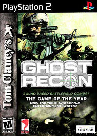 Tom Clancy's Ghost Recon - PS2 - Used