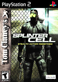 Tom Clancy's Splinter Cell - PS2 - Used