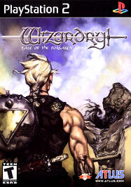 Wizardry: Tale of the Forsaken Land - PS2 - Used