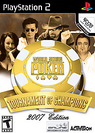World Series of Poker: Tournament of Champions -- 2007 Edition - PS2 - Used