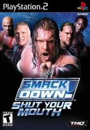 WWE SmackDown! Shut Your Mouth - PS2 - Used
