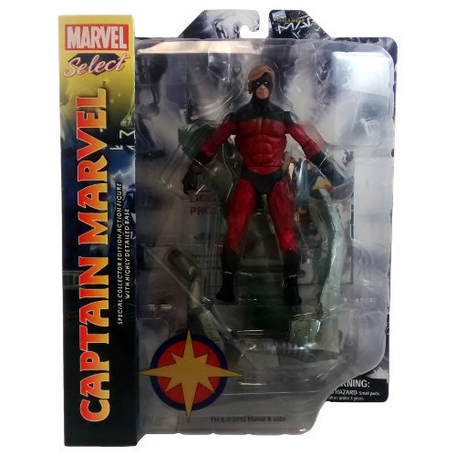 Marvel Select Captain Marvel Figure