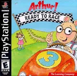 Arthur Ready To Race - PlayStation - Used