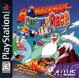 Bomberman Fantasy Race - PlayStation - Used