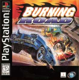 Burning Road - PlayStation - Used