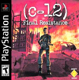 c-12: Final Resistance - PlayStation - Used