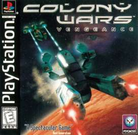 Colony Wars: Vengeance - PlayStation - Used