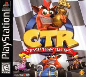 Crash Team Racing - PlayStation - Used