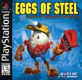 Eggs of Steel: Charlie's Eggcellent Adventure - PlayStation - Used