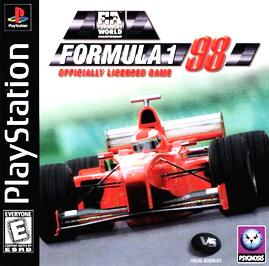 F1 Formula 1 98 - PlayStation - Used