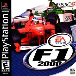 F1 World Grand Prix 2000 - PlayStation - Used
