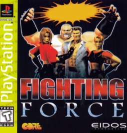 Fighting Force - PlayStation - Used