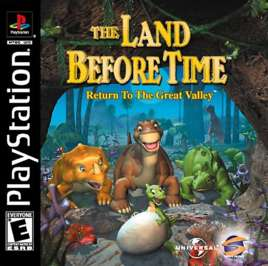 Land Before Time: Return to the Great Valley - PlayStation - Used