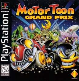 Motor Toon Grand Prix - PlayStation - Used