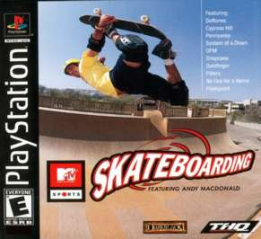 MTV Sports: Skateboarding Featuring Andy Macdonald - PlayStation - Used